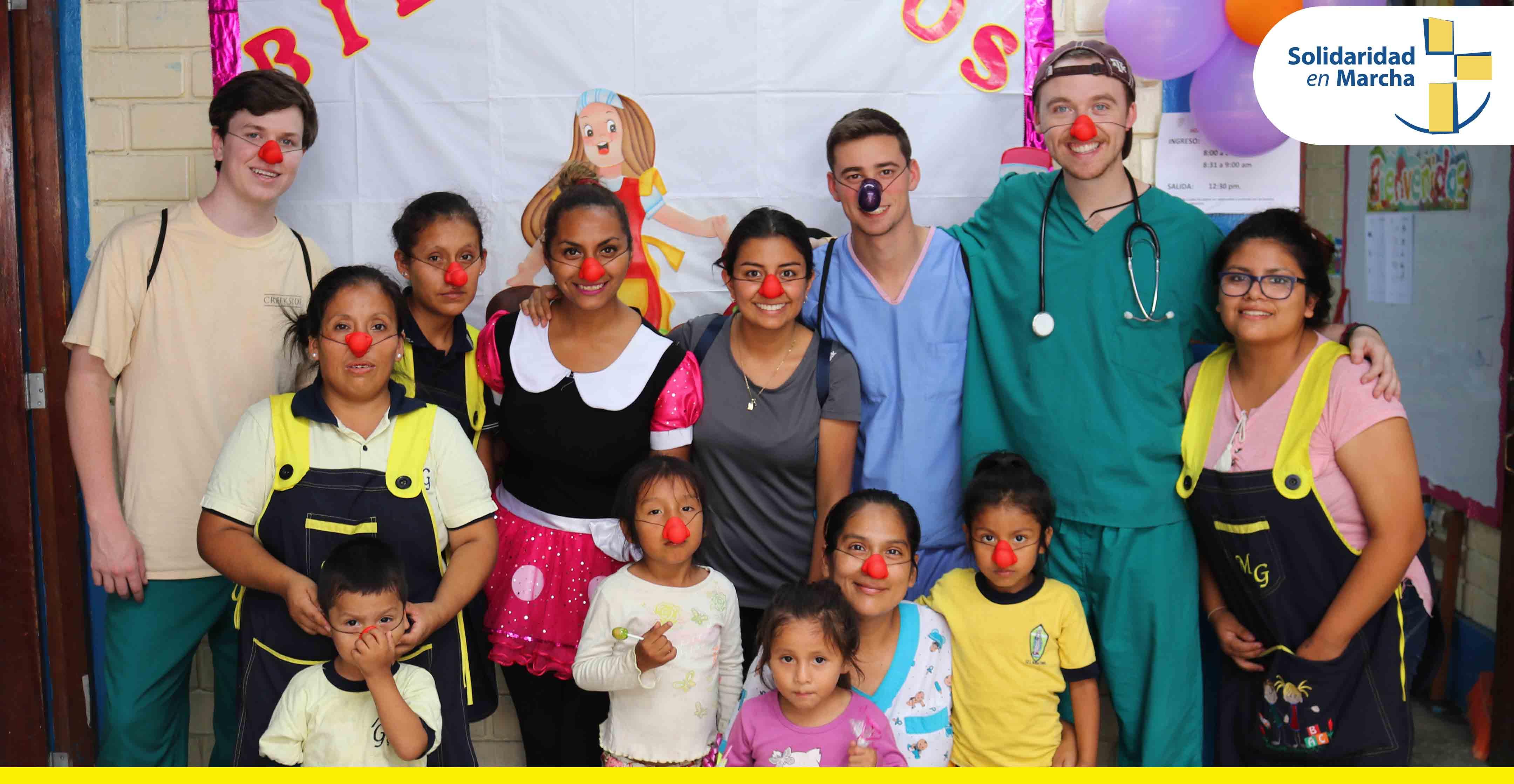 Más de 10 000 pobladores de Pamplona Alta se benefician gracias a la labor del Voluntariado SEM