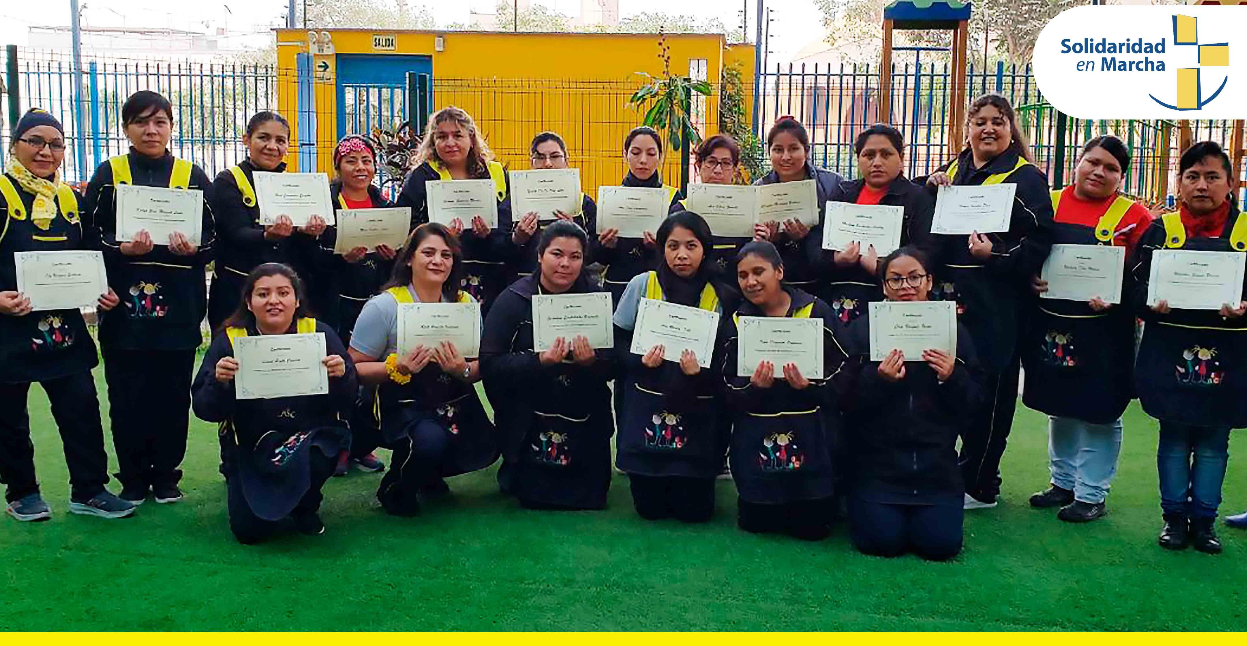 Docentes de la Red Educativa SEM reciben la primera capacitación anual de cuidado infantil