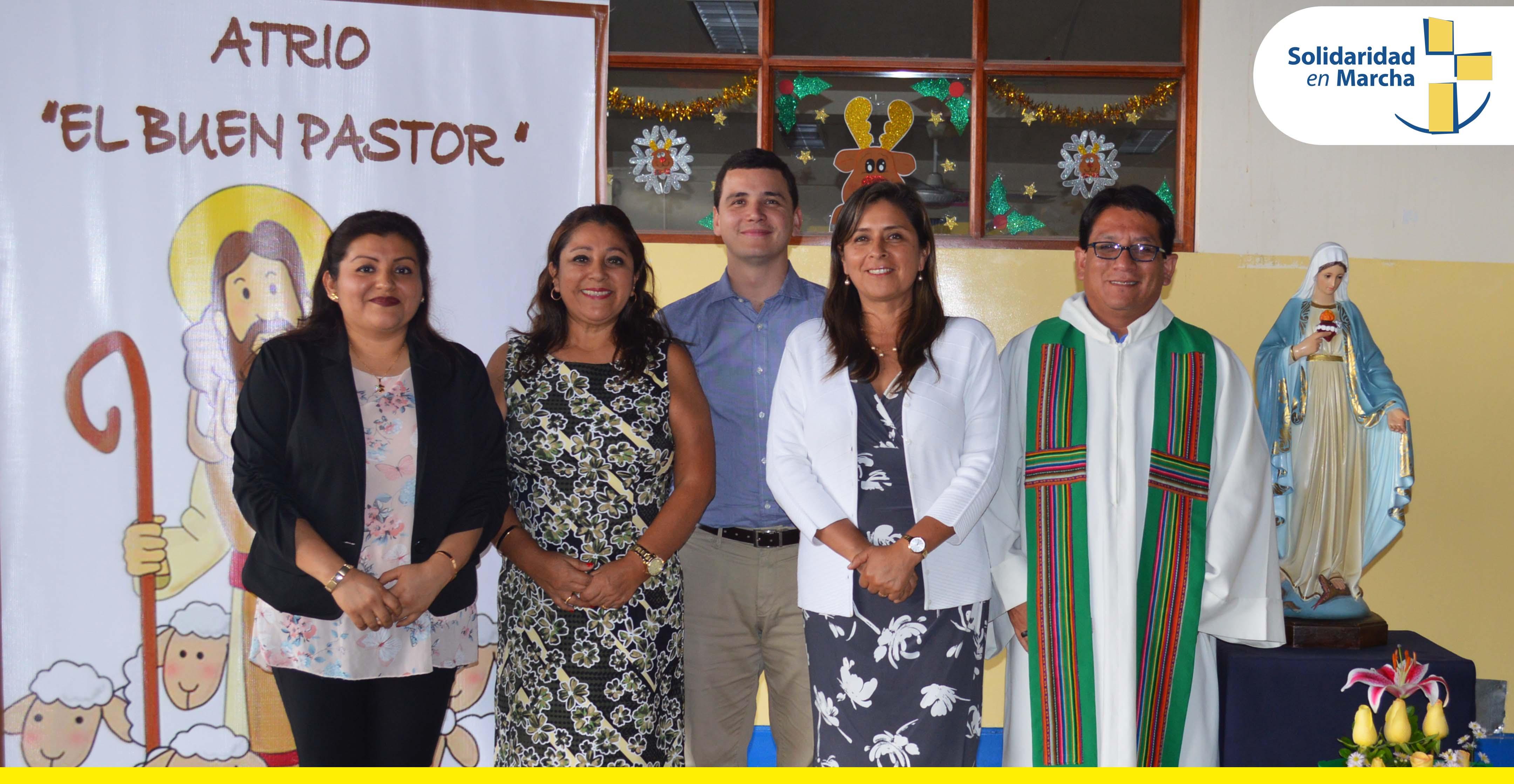 Red Educativa SEM apertura Aula del Buen Pastor en I.E.I. Nuestra Señora de la Cruz