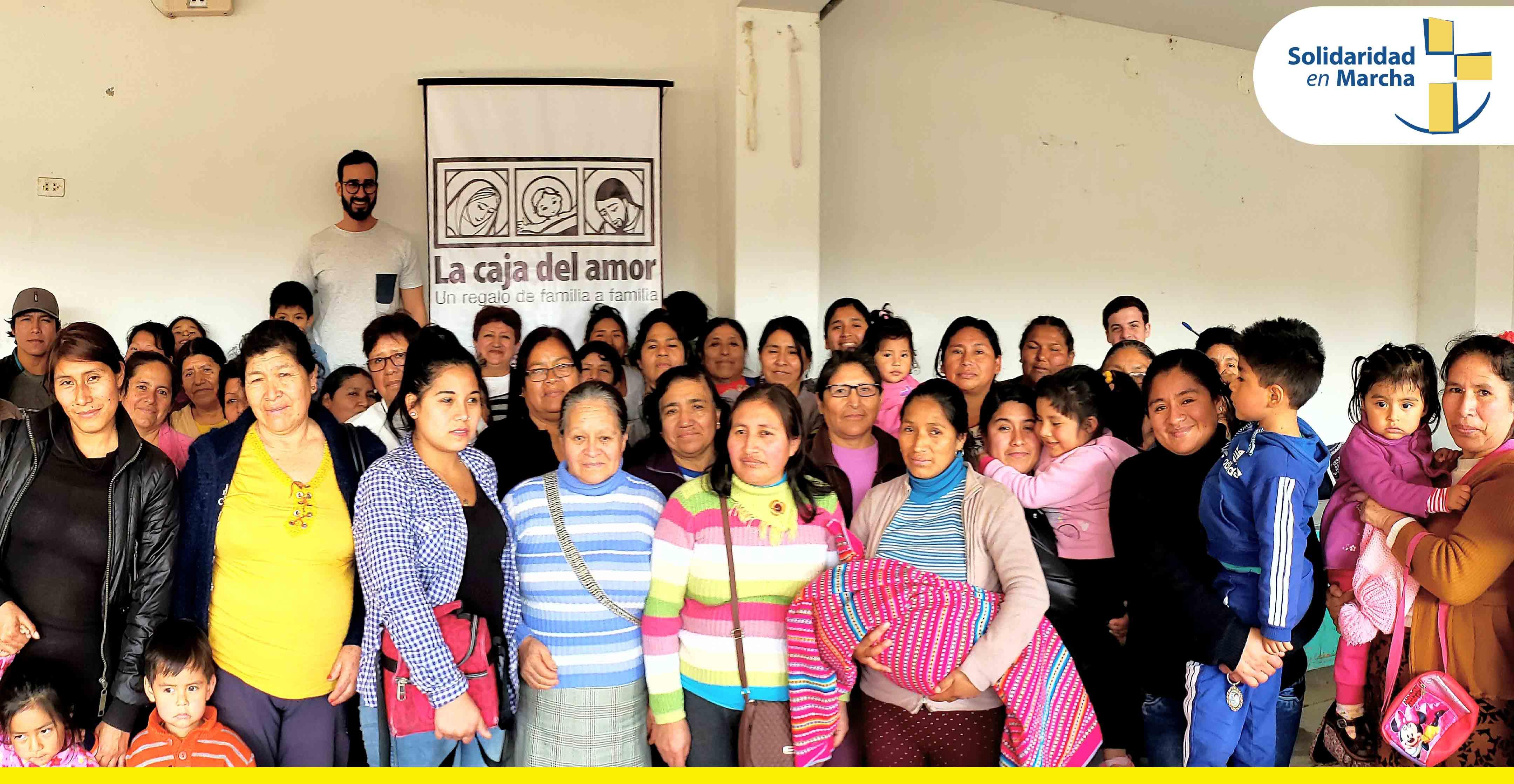 """Programa Social """"Caja del Amor"""" beneficiará a 3000 familias esta navidad"""