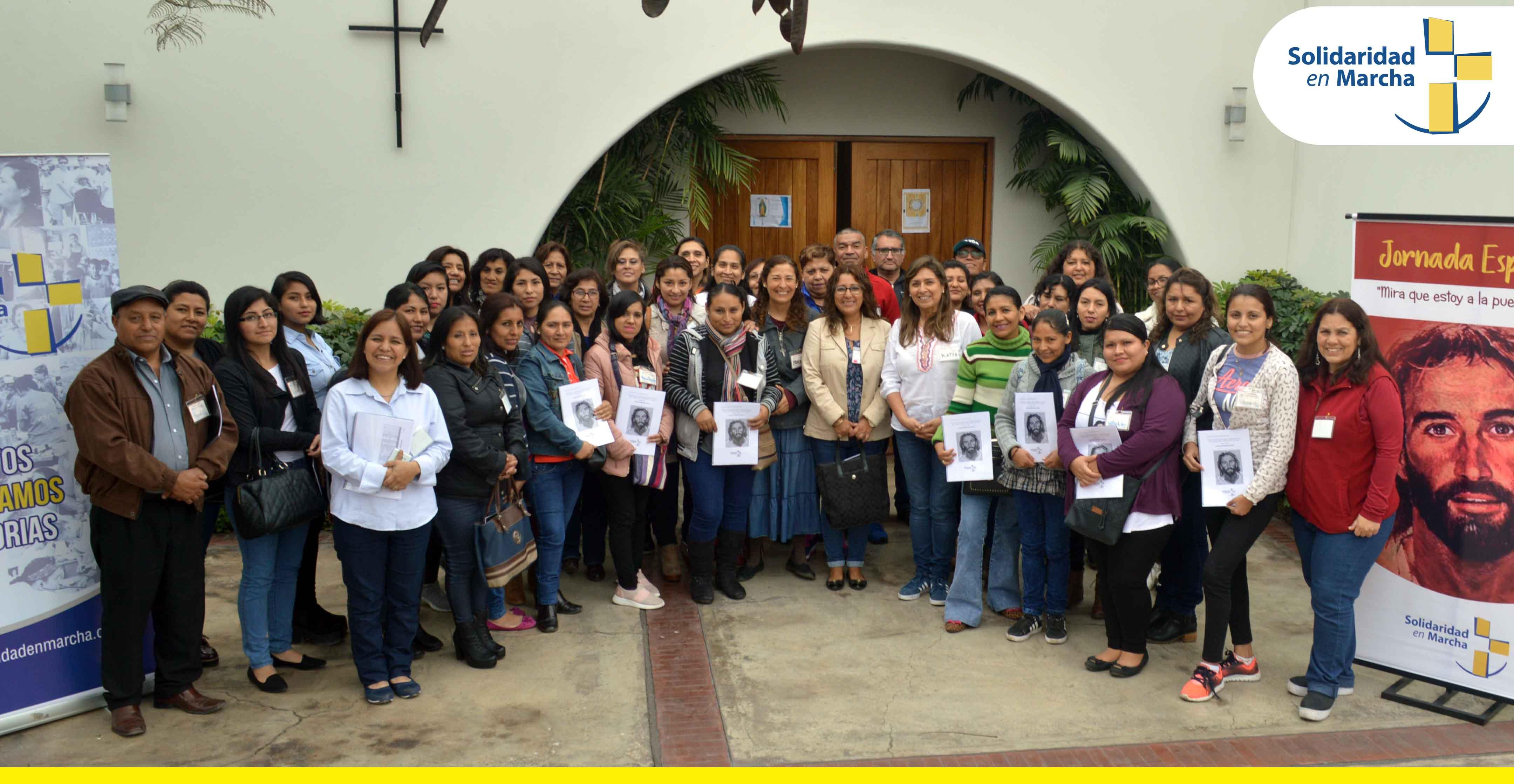Solidaridad en Marcha realiza Jornada Espiritual para Colaboradores SEM