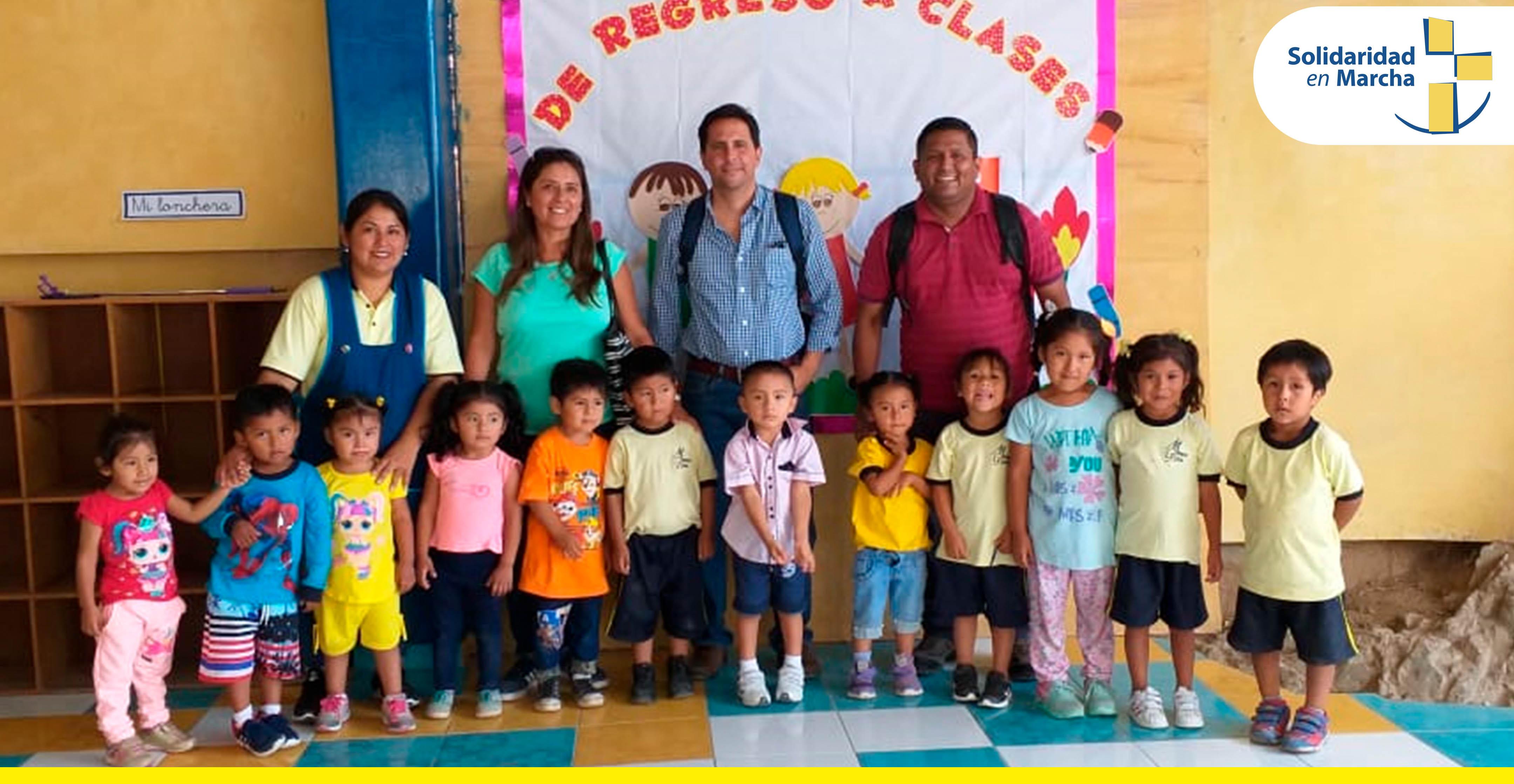 Fundación Acción Solidaria (SEM) Ecuador realiza visita a SEM Lima para analizar posibles alianzas en favor de la comunidad