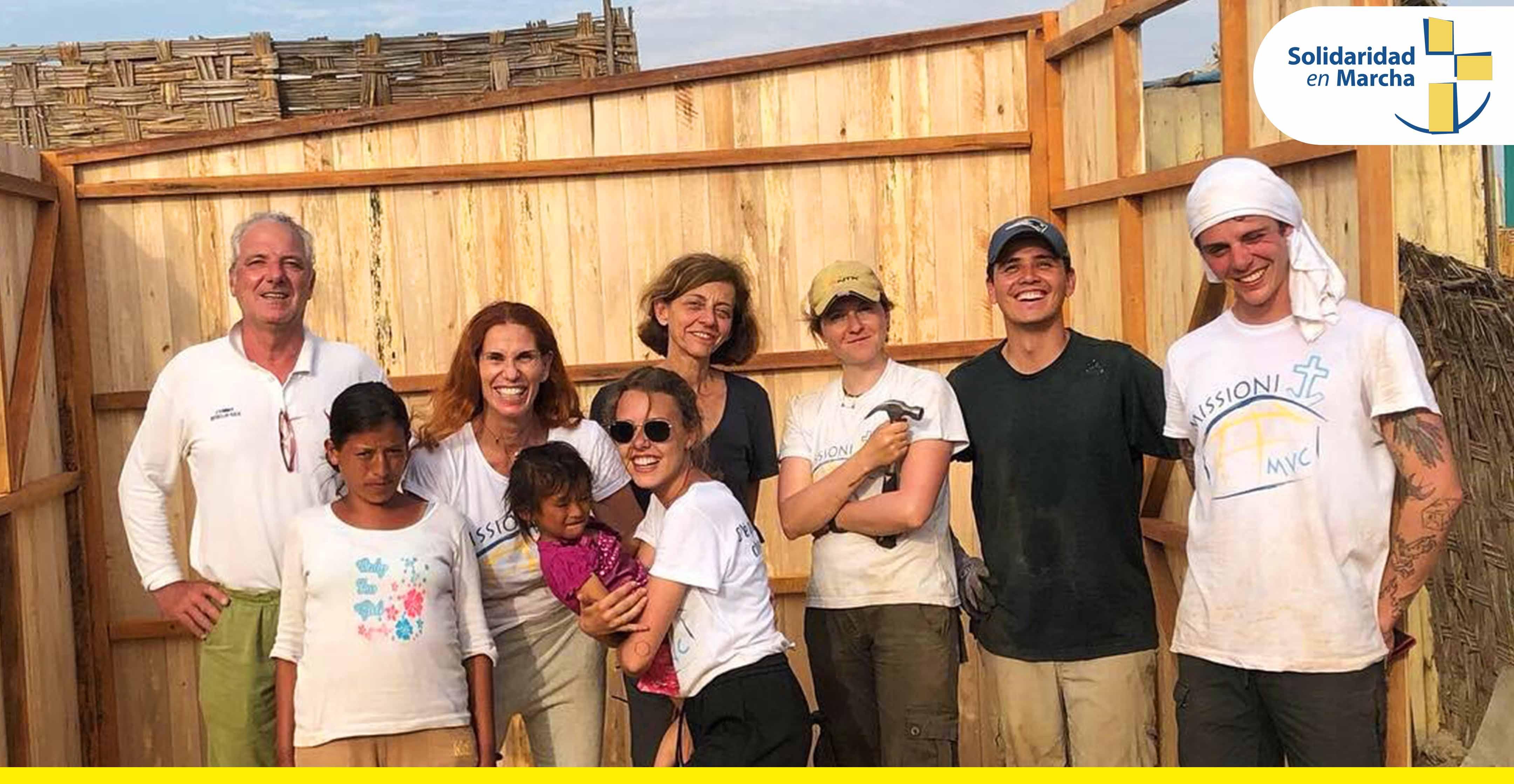 Voluntariado internacional construccion
