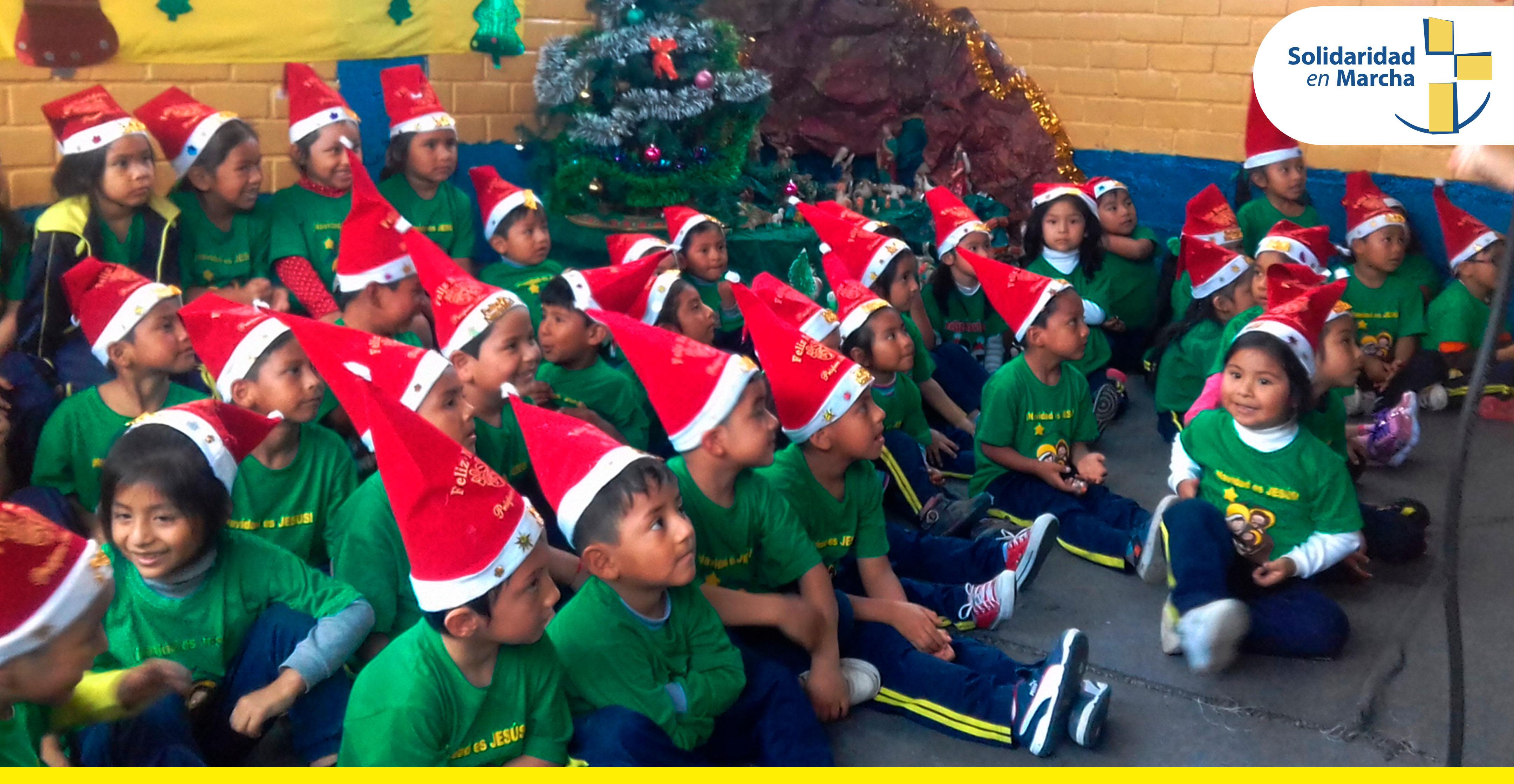 Nidos Solidarios celebran Navidad es Jesús