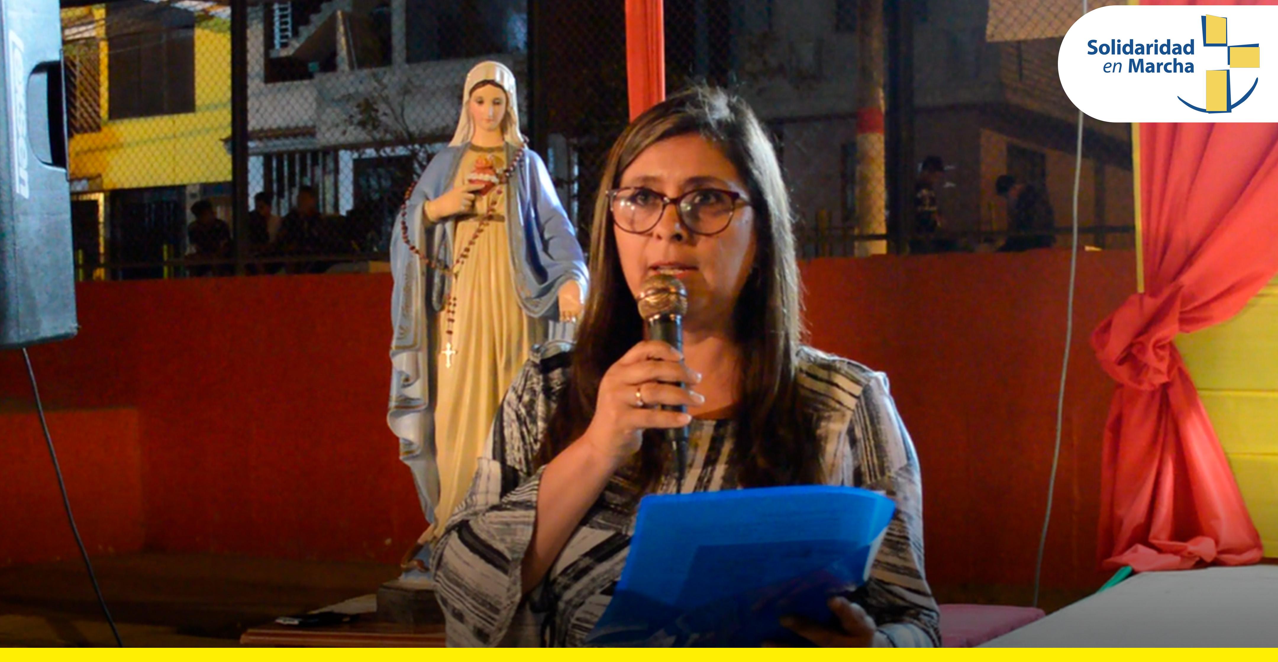Palabras de fin de año de Katya Alva, directora ejecutiva de Solidaridad en Marcha