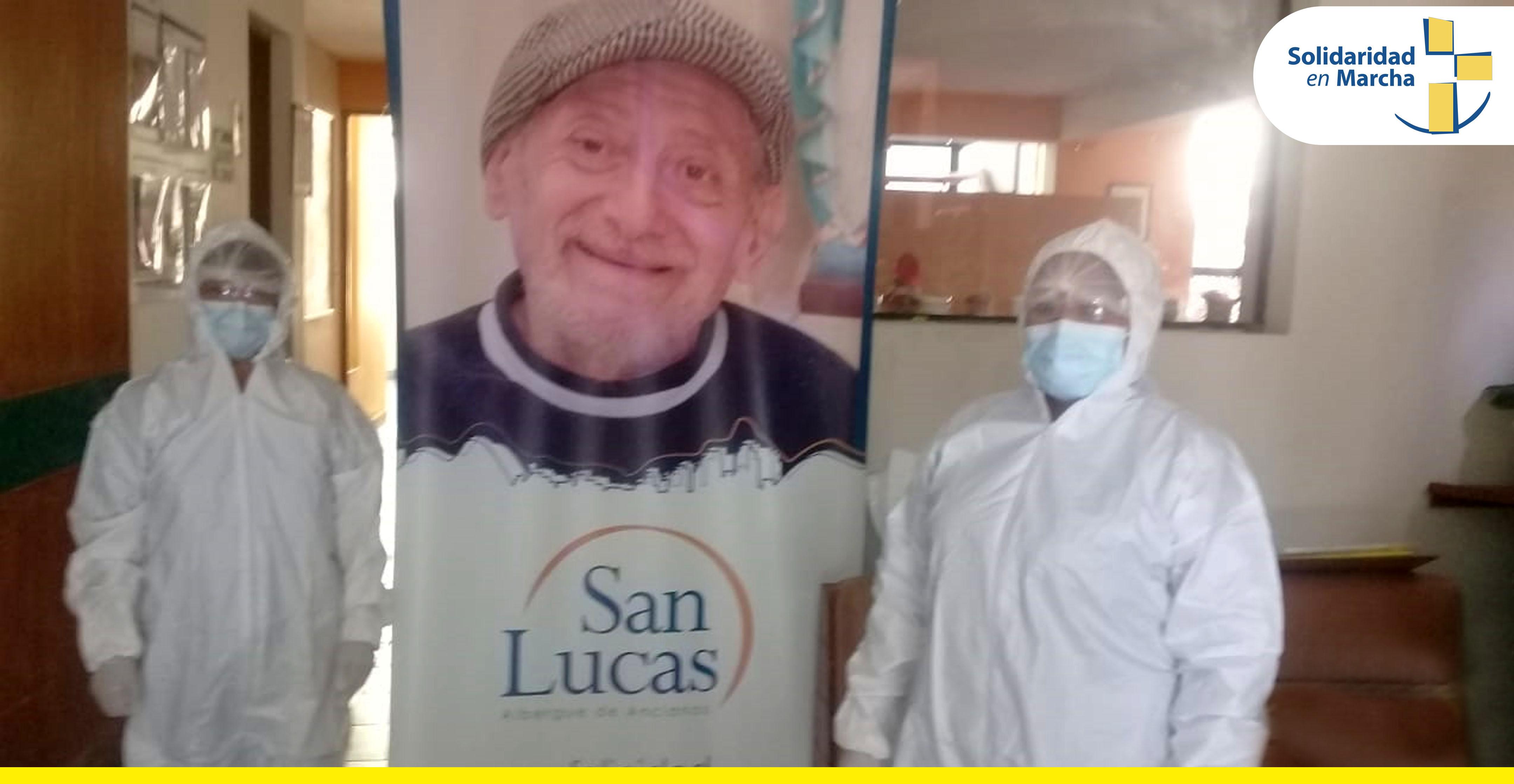 Albergue San Lucas continúa luchando contra el COVID-19