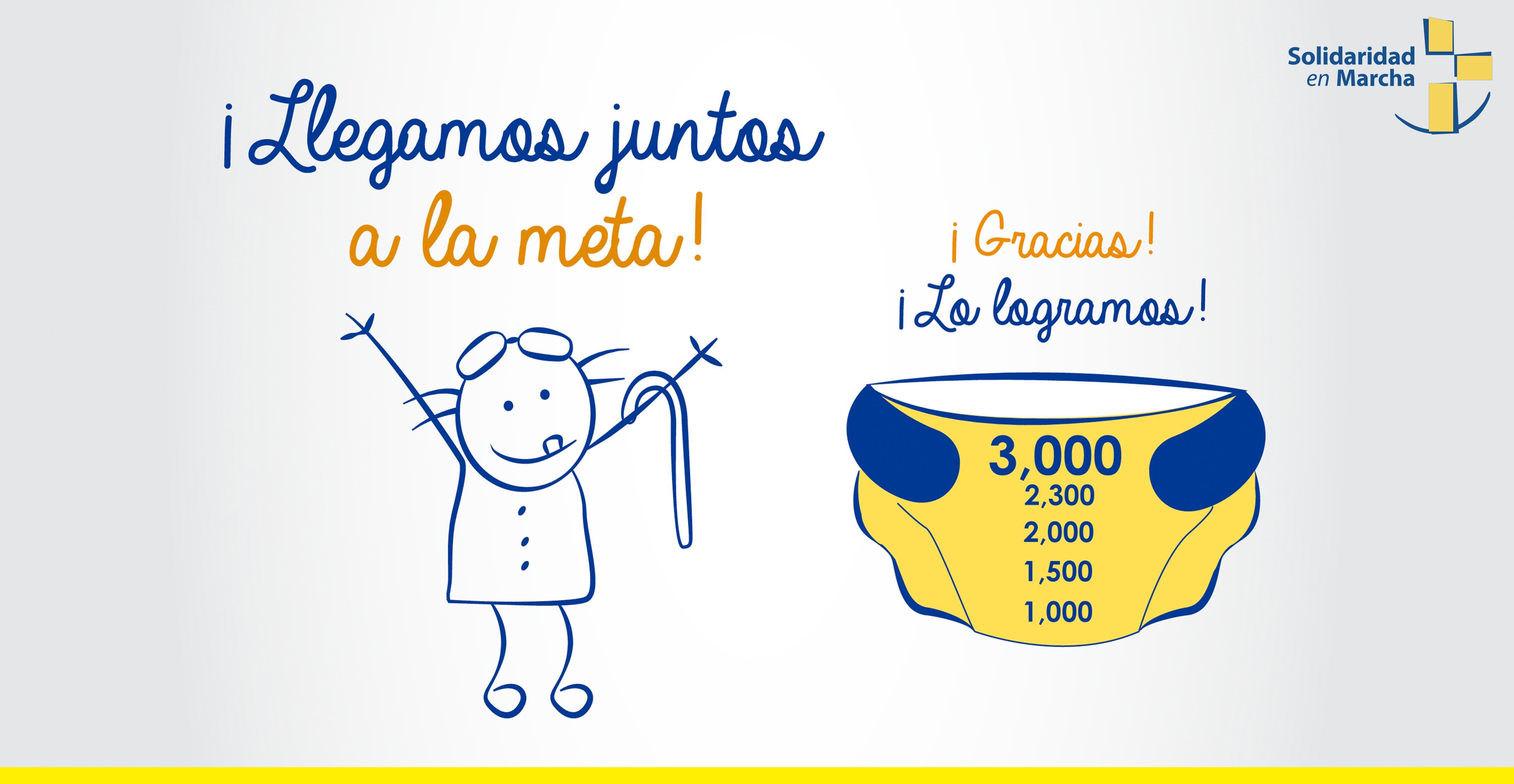 SEM alcanza la meta de 3000 pañales para abuelitos del Albergue San Lucas