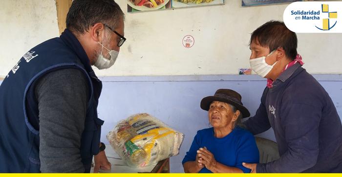 """Campaña """"Apadrina una Familia» para familias vulnerables"""