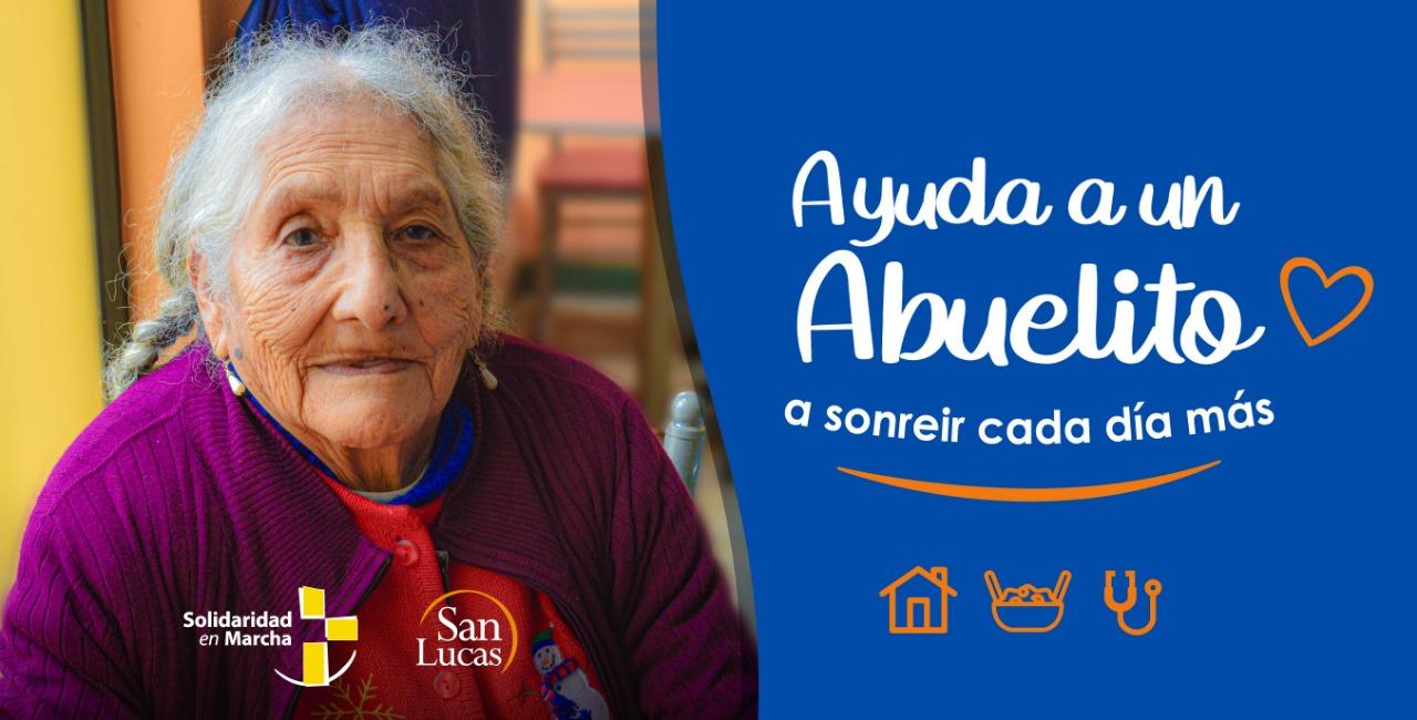 Solidaridad en Marcha inicia Campaña Ayuda un Abuelito